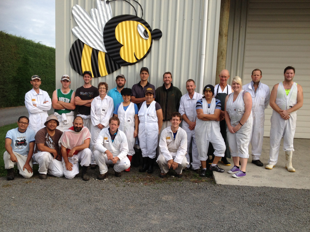 Staff of Kintail Honey - 2014